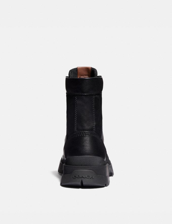 Coach Utility Boot Black SALEDDD Men's Sale Alternate View 2