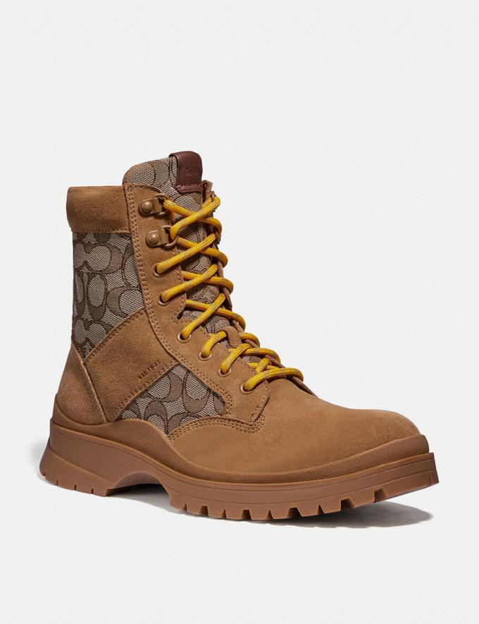 Coach Utility Boot Peanut New Men's New Arrivals Collection