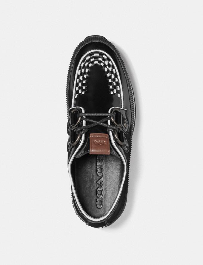 Coach Platform Sneaker Black  Alternate View 2