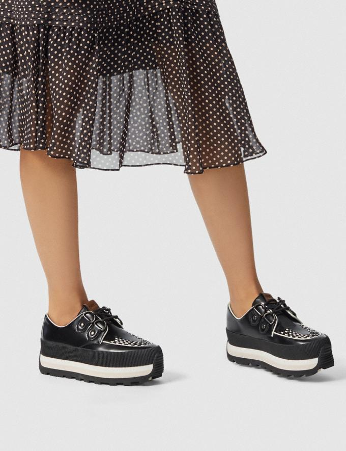 Coach Platform Sneaker Black  Alternate View 4
