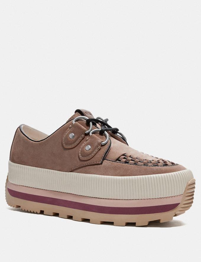 Coach Platform Sneaker Antique Mauve