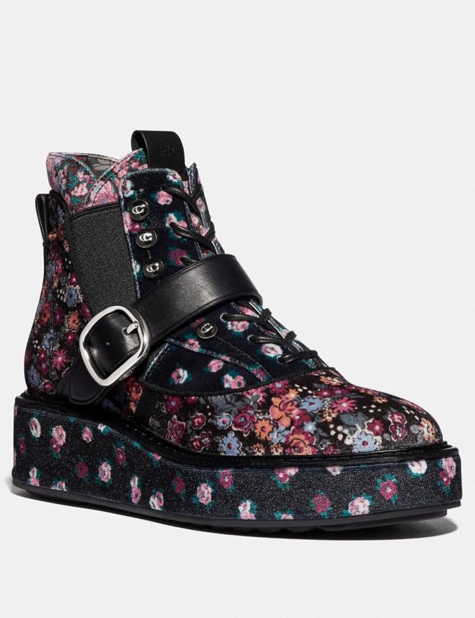 Coach Coach X Tabitha Simmons Chelsea Urban Hiker Black/Rosedust Women Shoes Sneakers