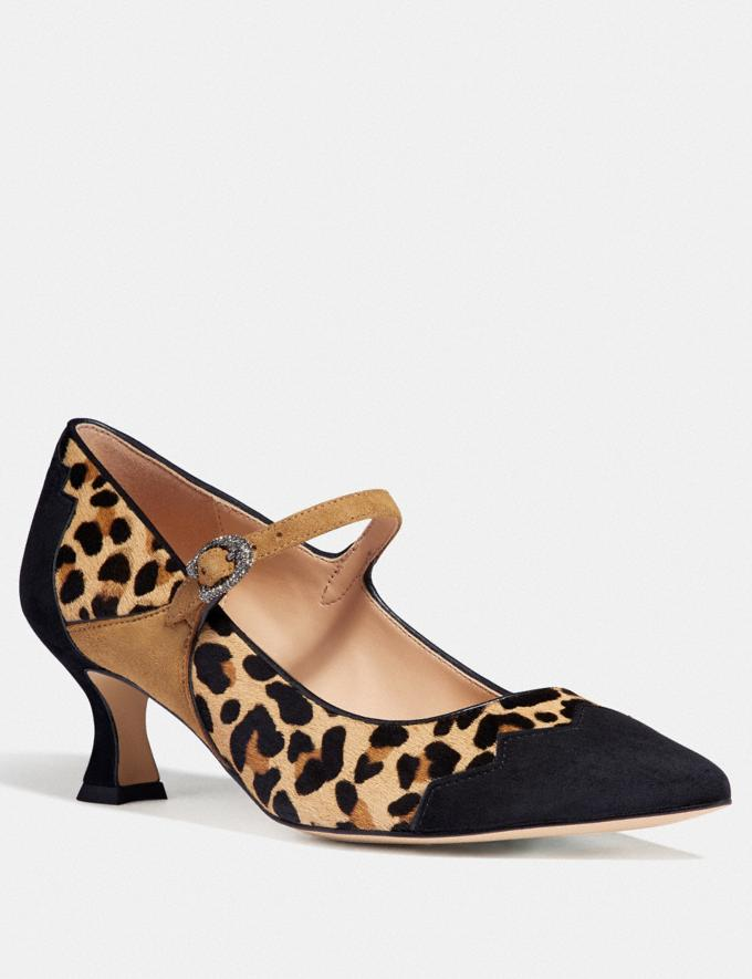 Coach Coach X Tabitha Simmons Edith Kitten Heel Natural/Peanut PRIVATE SALE Women's Sale Shoes