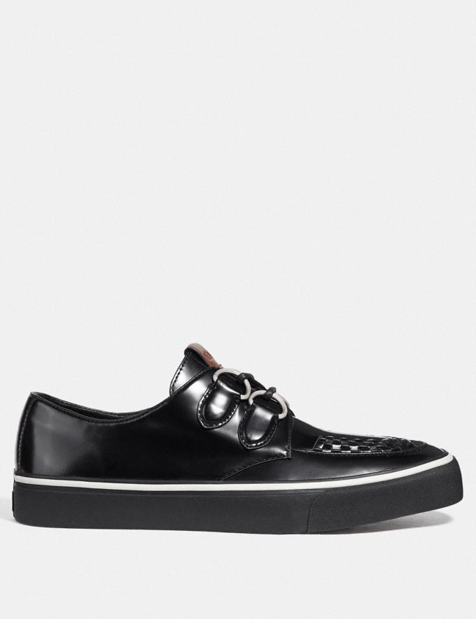 Coach C175 Low Top Sneaker Black  Alternate View 1