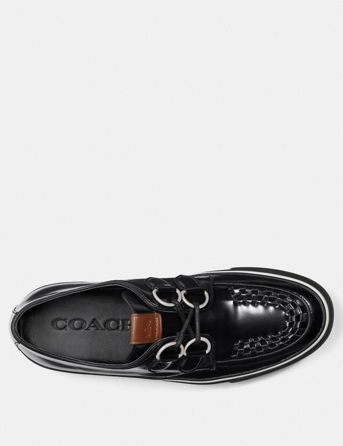 Coach C175 Low Top Sneaker Black Men Shoes Sneakers Alternate View 2