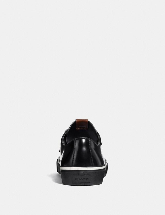 Coach C175 Low Top Sneaker Black Men Shoes Sneakers Alternate View 3