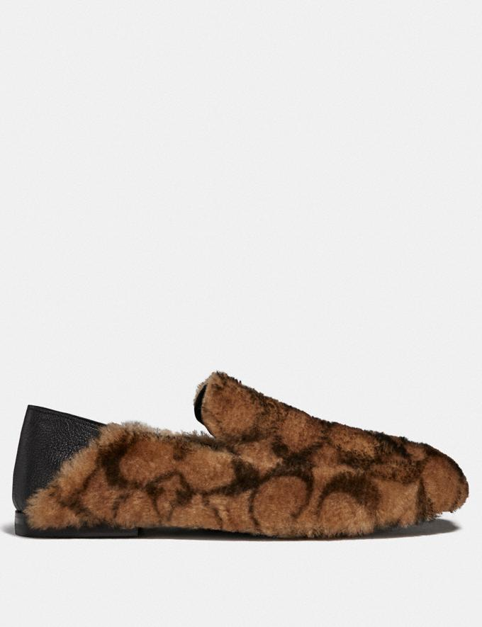 Coach Slipper Camel New Men's New Arrivals Collection Alternate View 1