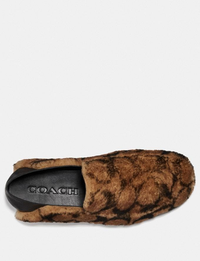 Coach Slipper Camel New Men's New Arrivals Collection Alternate View 2