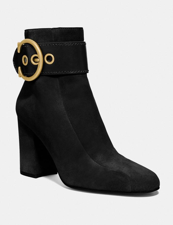 Coach Dara Bootie Black New Women's New Arrivals Shoes