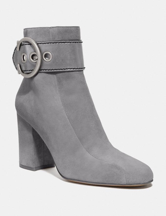 Coach Dara Bootie Heather Grey New Women's New Arrivals Shoes