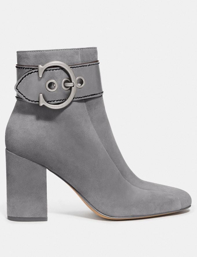 Coach Dara Bootie Heather Grey New Women's New Arrivals Shoes Alternate View 1