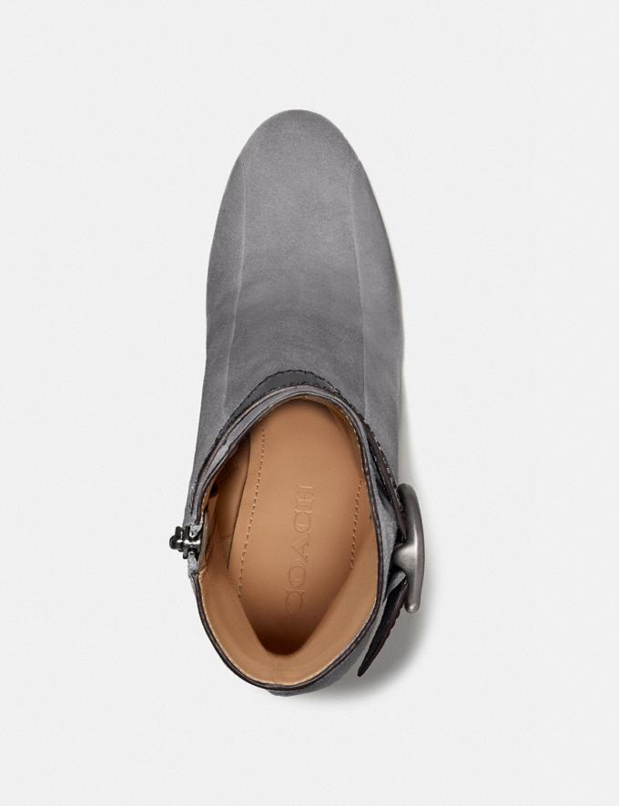 Coach Dara Bootie Heather Grey New Women's New Arrivals Shoes Alternate View 2