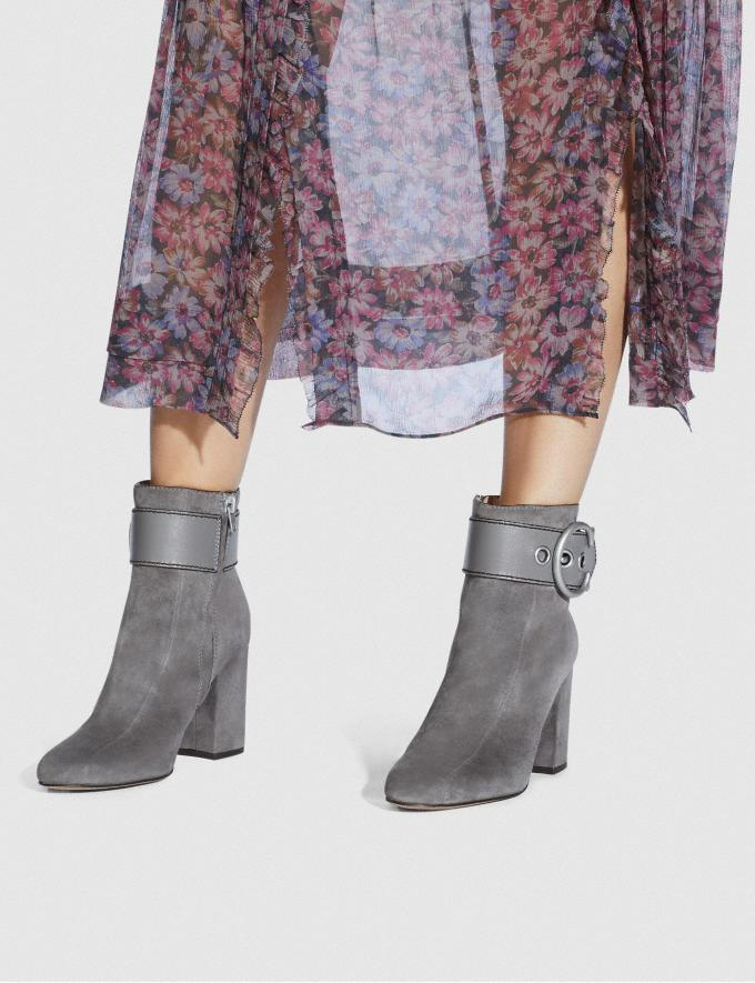 Coach Dara Bootie Heather Grey New Women's New Arrivals Shoes Alternate View 4