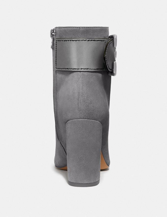 Coach Dara Bootie Heather Grey New Women's New Arrivals Shoes Alternate View 3