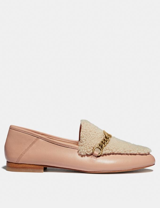 Coach Helena Loafer Pale Blush/Natural New Women's New Arrivals Shoes Alternate View 1