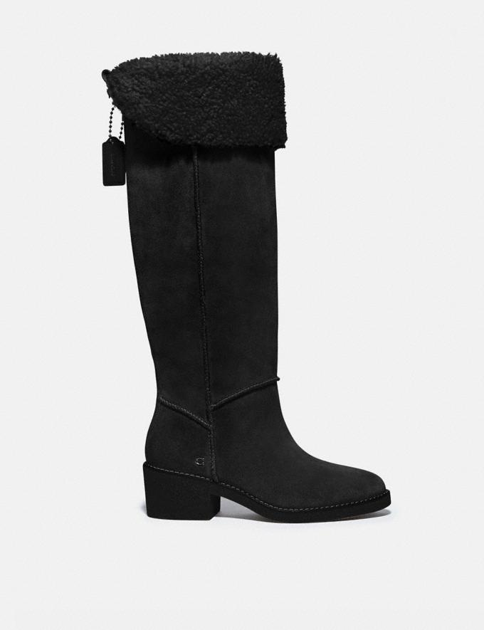 Coach Janelle Boot Black/Black  Alternate View 1