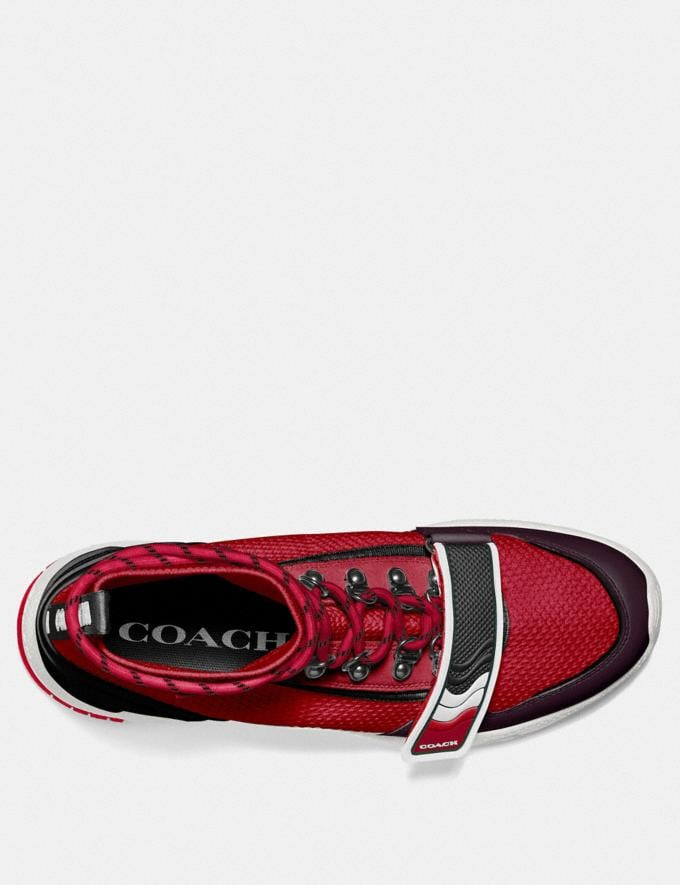 Coach C243 One Strap Runner Clay Multi Men Shoes Sneakers Alternate View 2