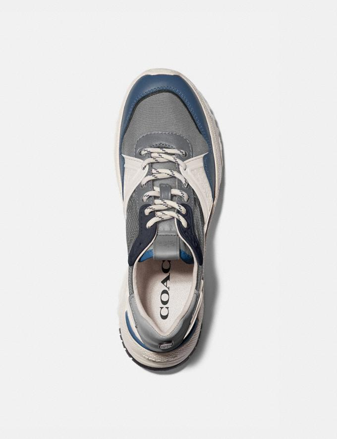 Coach C143 Runner Heather Grey Denim  Alternate View 2