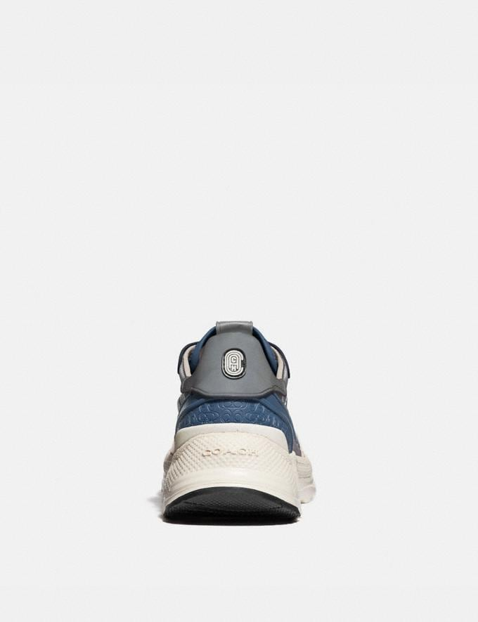 Coach C143 Runner Heather Grey Denim  Alternate View 3