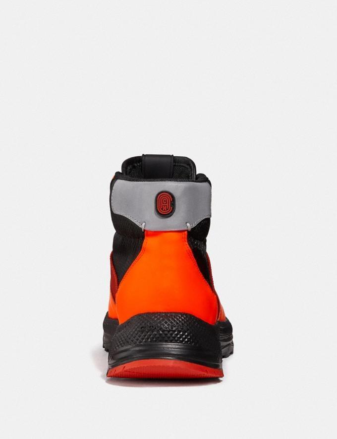 Coach Bota Hiker C250 Naranja Fluorescente Hombre Calzado Botas Vistas alternativas 2