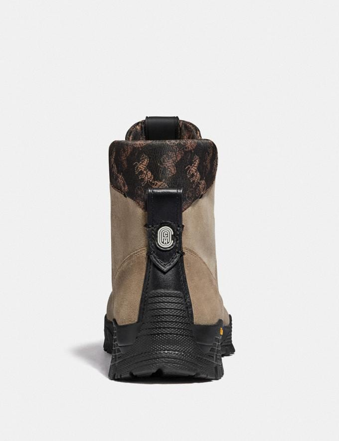 Coach Hybrid Coach City Hiker Boot With Horse and Carriage Print Mushroom Multi  Alternate View 2