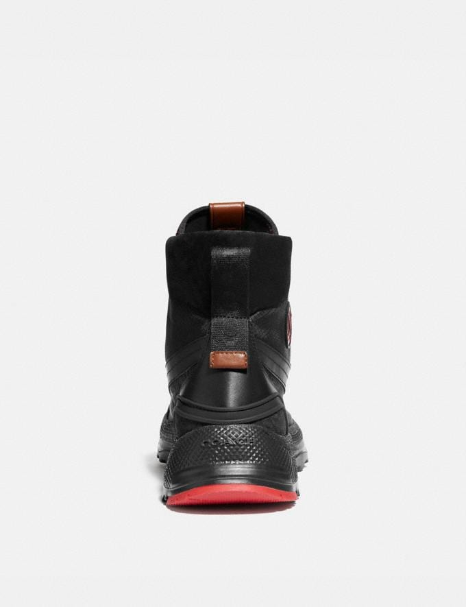 Coach Coach X Michael B. Jordan Hybrid Urban Hiker Black Ninjutsu Red Men Shoes Alternate View 3
