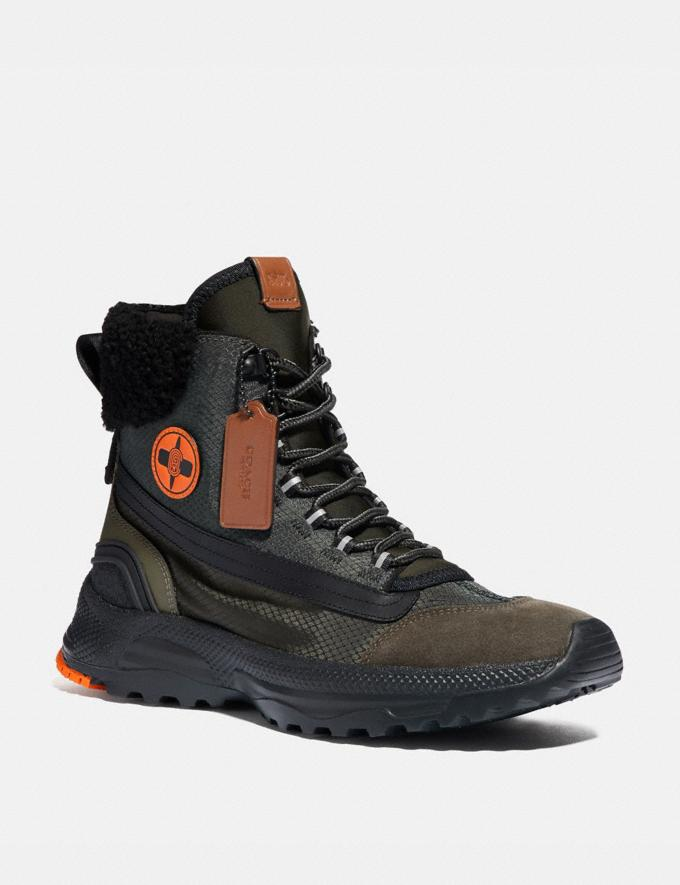 Coach Coach X Michael B. Jordan Hybrid Urban Hiker Military Green/Ninjutsu Orange