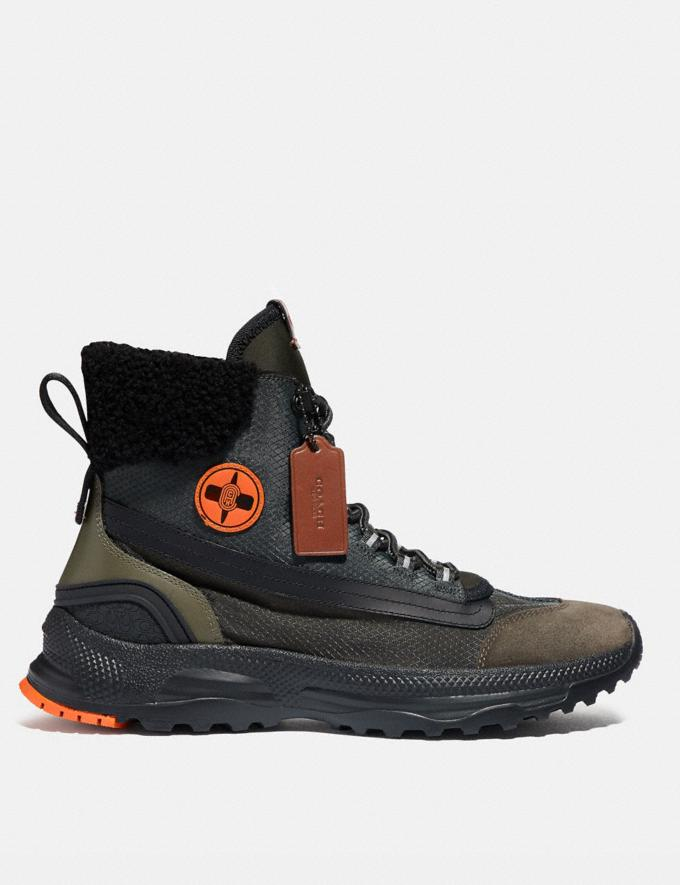 Coach Coach X Michael B. Jordan Hybrid Urban Hiker Military Green/Ninjutsu Orange  Alternate View 1