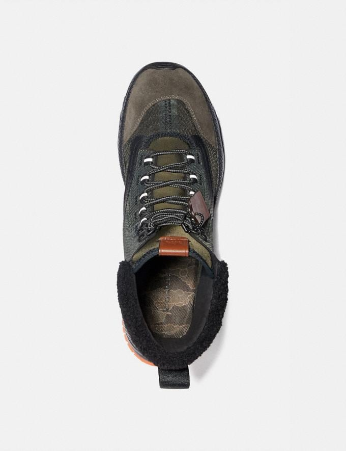 Coach Coach X Michael B. Jordan Hybrid Urban Hiker Military Green/Ninjutsu Orange  Alternate View 2