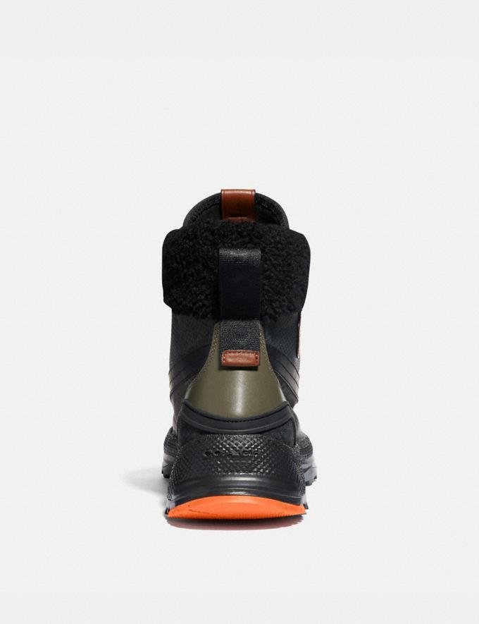 Coach Coach X Michael B. Jordan Hybrid Urban Hiker Military Green/Ninjutsu Orange  Alternate View 3
