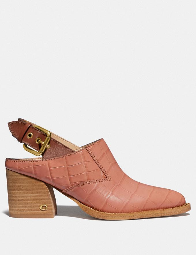 Coach Payson Slingback Bootie Light Peach/1941 Saddle New Women's New Arrivals Shoes Alternate View 1