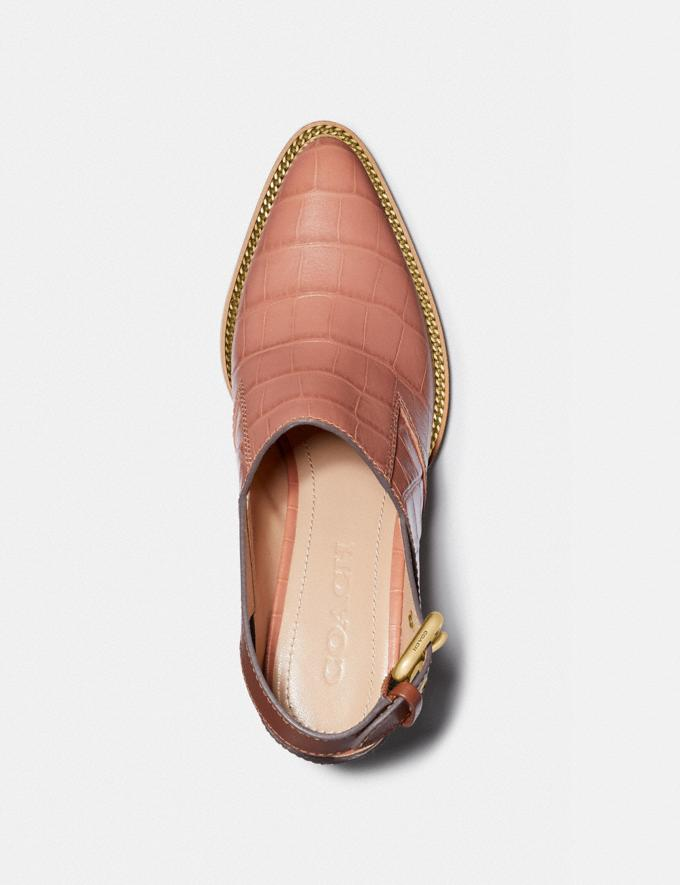 Coach Payson Slingback Bootie Light Peach/1941 Saddle New Women's New Arrivals Shoes Alternate View 2