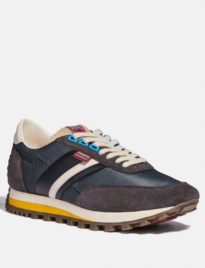 Coach C180 Low Top Sneaker Multi Antrha Men Shoes Trainers