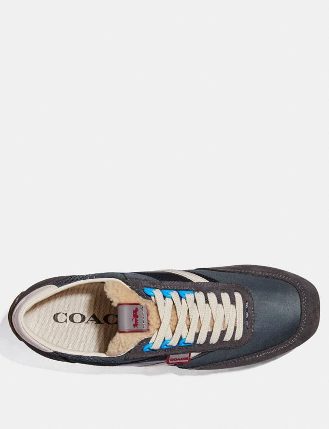 Coach C180 Low Top Sneaker Multi Antrha Men Shoes Trainers Alternate View 2