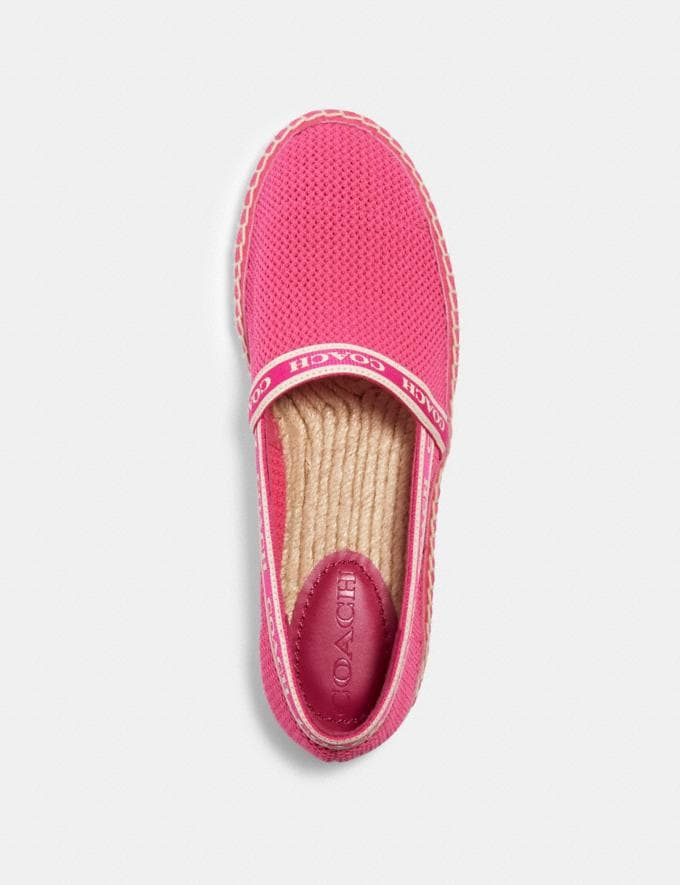 Coach Corrie Espadrille Hyacinth  Alternate View 2