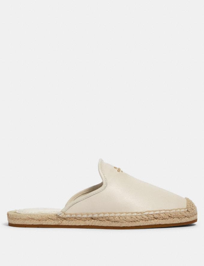 Coach Caley Espadrille Chalk  Alternate View 1
