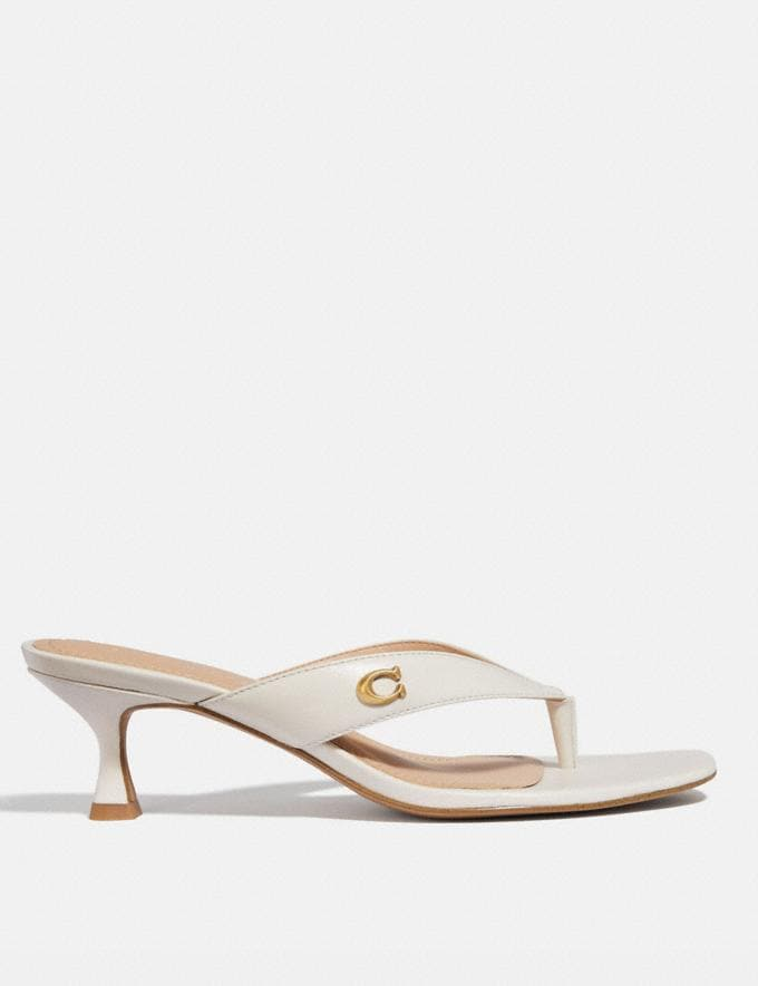 Coach Audree Sandal Chalk  Alternate View 1