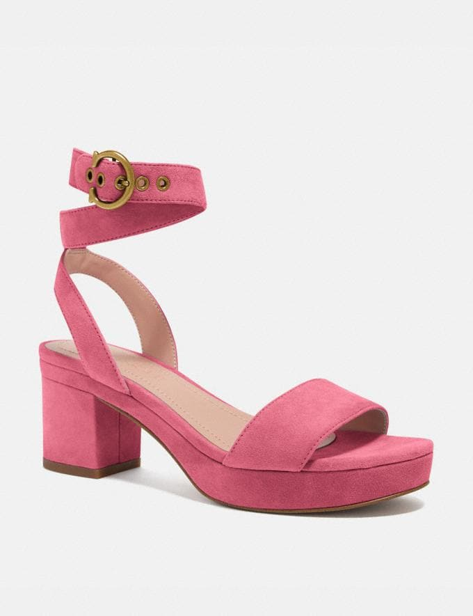 Coach Serena Sandal Orchid PRIVATE SALE Shop by Price 40% Off