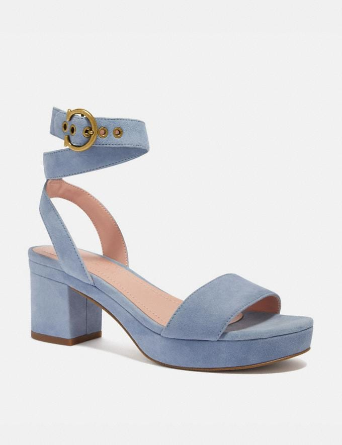 Coach Serena Sandal Bluebell Women Shoes Heels