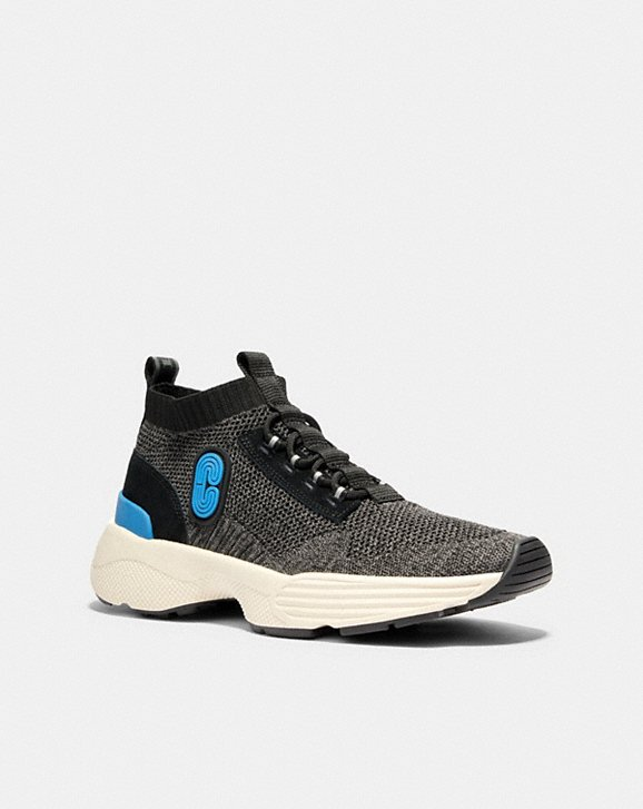 Coach C252 KNIT RUNNER WITH COACH PATCH