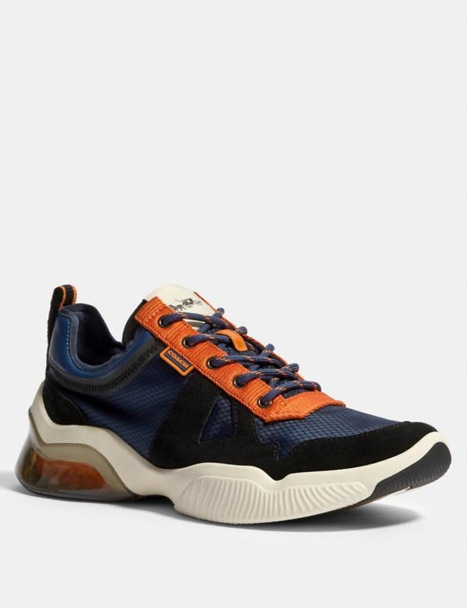 Coach Citysole Runner in Colorblock Admiral Clementine