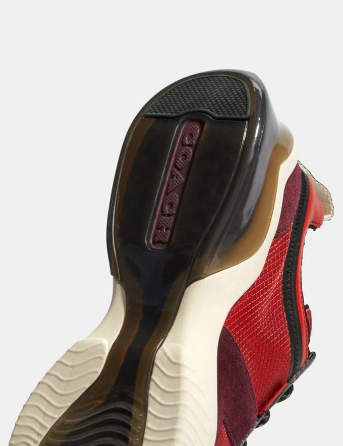 Coach Citysole Runner in Colorblock Sport Red Oxblood  Alternate View 5