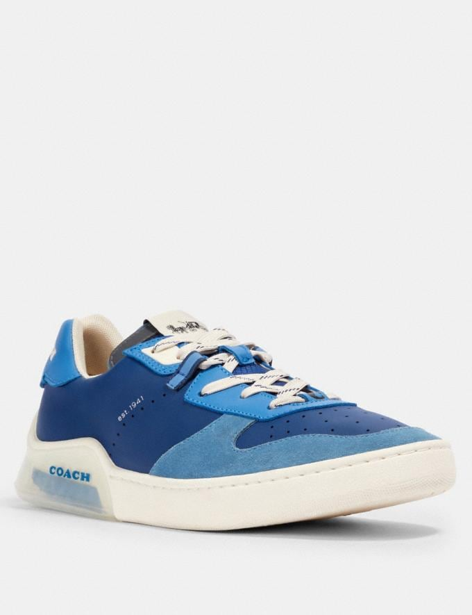Coach Citysole Court in Colorblock Admiral Bright Blue