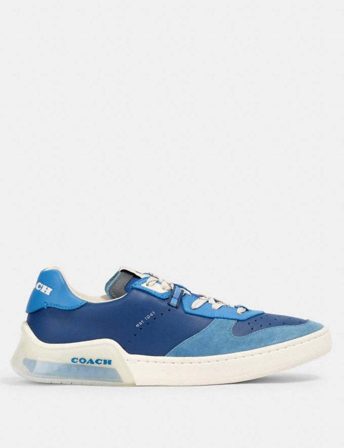 Coach Citysole Court in Colorblock Admiral Bright Blue  Alternate View 1