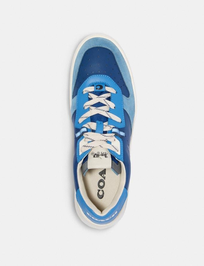 Coach Citysole Court in Colorblock Admiral Bright Blue  Alternate View 2