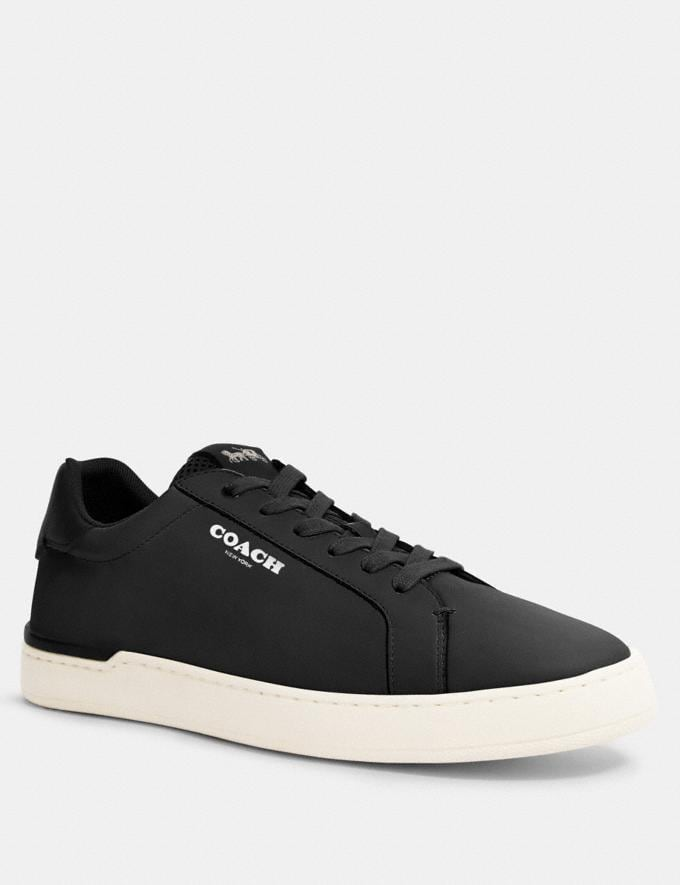 Coach Clip Low Top Sneaker Black