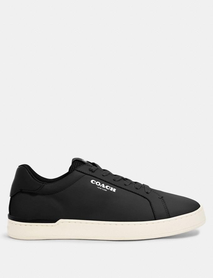 Coach Clip Low Top Sneaker Black  Alternate View 1