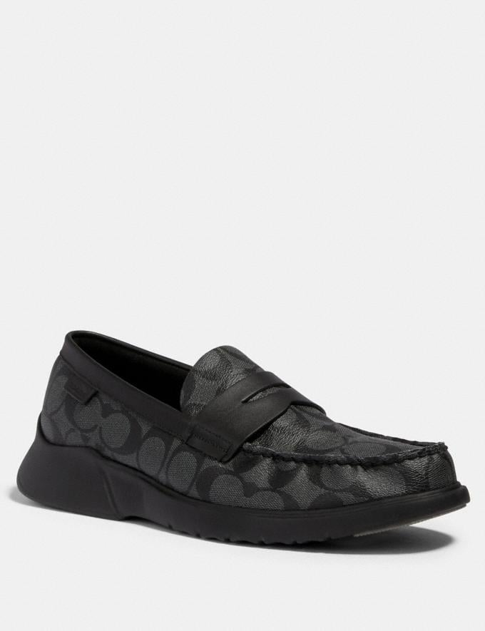 Coach Citysole Loafer Charcoal/Black