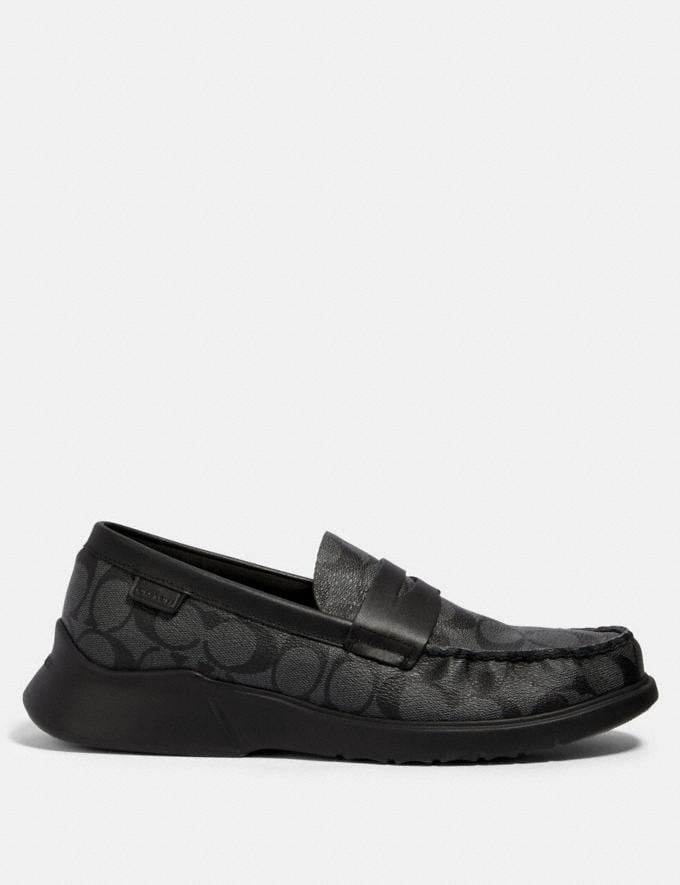 Coach Citysole Loafer Charcoal/Black  Alternate View 1