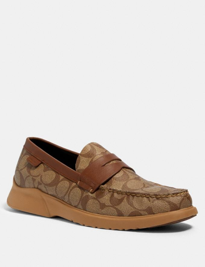 Coach Citysole Loafer Khaki/Saddle